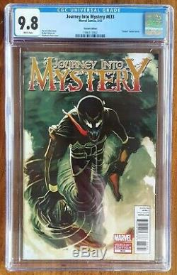 Journey Into Mystery 633 CGC 9.8 Venom Variant 150 Stephanie Hans Loki