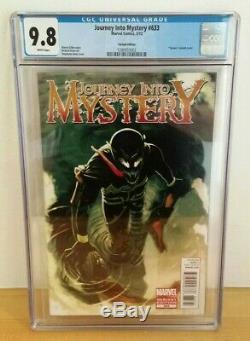 Journey Into Mystery #633 Venom Variant Cgc 9.8 Rare Htf 2012