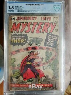 Journey Into Mystery #83 (1962) 1.5 Ow-w Cbcs 1st App Of Thor! Megakey