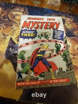 Journey Into Mystery #83 1966 Golden Record Reprint 1st App Thor Lee Kirby damag