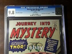 Journey Into Mystery #83 (1966)- Golden Records Reprint CGC 9.8 White Pages