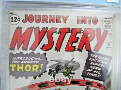 Journey Into Mystery #83 (1st App Of Thor) 1962 Holy Grail Cgc 7.0 High Grade