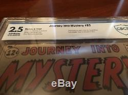 Journey Into Mystery #83 1st THOR Comic Book 1963