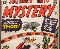 Journey Into Mystery #83 1st Thor CGC 6.0 Key Silver Age