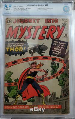 Journey Into Mystery 83 CBCS 3.5 VG- OWP 1st THOR