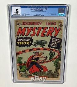 Journey Into Mystery #83 CGC 0.5 KEY! (1st THOR & Origin!) Aug. 1962 Marvel