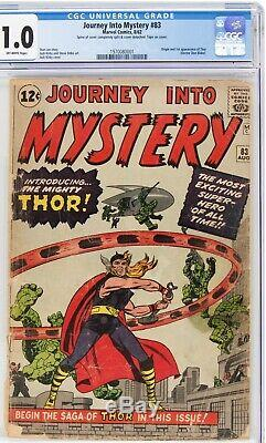 Journey Into Mystery #83 CGC 1.0 (1st App Thor) 1970080001
