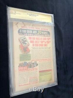 Journey Into Mystery #83 CGC 1.0 Signed STAN LEE Joe Sinnott Origin 1st App THOR