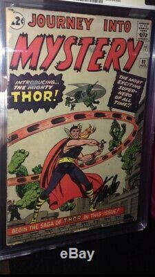Journey Into Mystery #83 CGC 2.5 OW SS Stan Lee 1st appearance of Thor