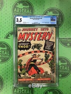 Journey Into Mystery #83 CGC 3.5 First appearance of Thor