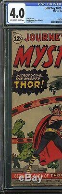 Journey Into Mystery #83 CGC 4.0 Origin 1st appearance of THOR Asgard AVENGERS