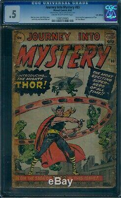 Journey Into Mystery 83 CGC. 5 (poor) 1st Thor U. K. EDITION