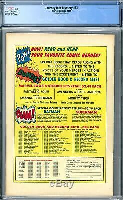 Journey Into Mystery #83 CGC 6.5 (W) Golden Record Comic reprint