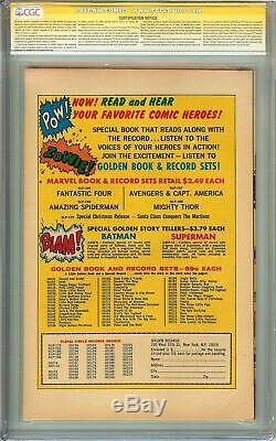 Journey Into Mystery #83 CGC 8.5 SIGNED STAN LEE Origin 1st App of THOR GRR Gift