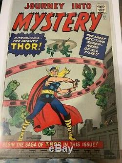 Journey Into Mystery #83 CGC 9.4 Origin 1st Appearance of THOR GRR