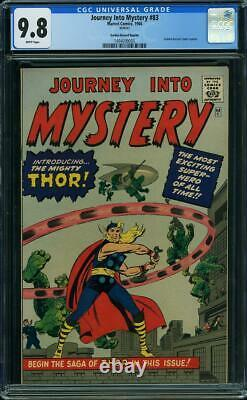 Journey Into Mystery #83 CGC 9.8 1966 1st Thor! Avengers! GG Reprint! H12 145 cm