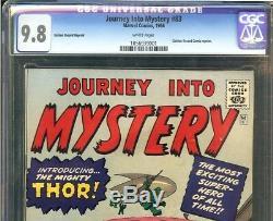 Journey Into Mystery #83 CGC 9.8 Origin 1st appearance THOR Asgard GRR Variant