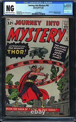 Journey Into Mystery 83 CGC NG