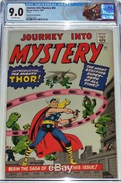 Journey Into Mystery #83 CGC graded 9.0 Golden Record Reprint. 1st Thor