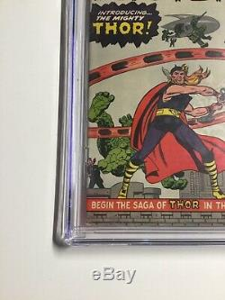 Journey Into Mystery 83 Cgc 6.5 White Pages Marvel Silver Age 1st App Thor