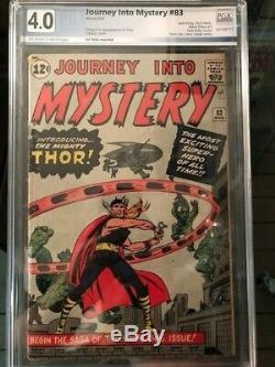 Journey Into Mystery #83 First Thor 4.0 Vg Pgx Rare Off White To White Pages