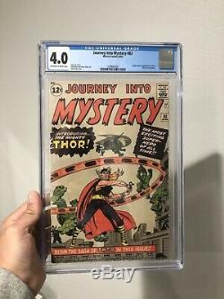 Journey Into Mystery 83 First Thor No Chipping Beautiful Colors