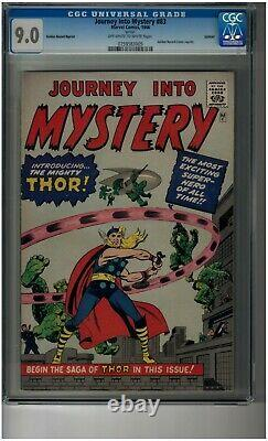 Journey Into Mystery #83 GRR CGC 9.0 Gold Record Reprint First Thor