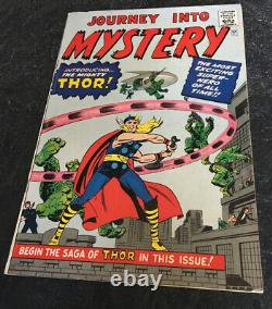 Journey Into Mystery 83 Golden Record Edition 1966 1st Thor Silver Age Classic