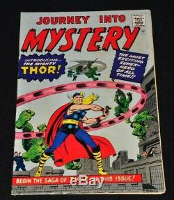 Journey Into Mystery 83 Golden Record Reprint 1966 1st Appearance Thor Solid