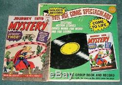 Journey Into Mystery # 83 Golden Record Reprint Comic And Record 1st Thor 1966