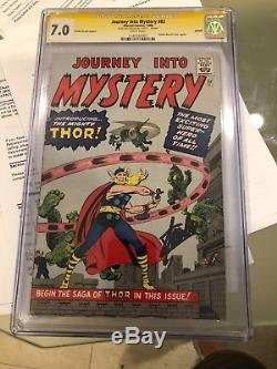 Journey Into Mystery 83 Golden Record Reprint Signature Series Stan Lee CGC 7.0