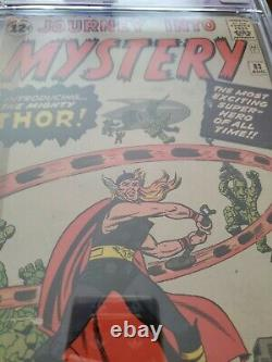 Journey Into Mystery #83 Marvel 1962 CGC 1.5 origin & 1st App of Thor