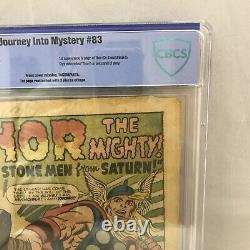 Journey Into Mystery #83 Origin 1st Appearance Thor Coverless Complete CBCS 0.3