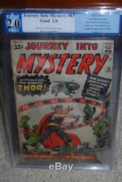 Journey Into Mystery #83 PGX 2.0 1st Thor! Avengers! Like CGC C8 594 1 cm