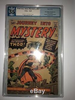 Journey Into Mystery # 83 PGX 3.5 1st App. Thor