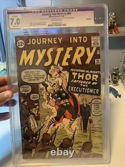 Journey Into Mystery #84 2nd THOR 1st Appearance Jane Foster 1962 CGC 7.0 Resto
