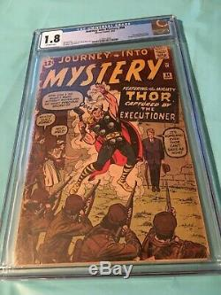 Journey Into Mystery #84 2nd THOR CGC 1.8 Low Price HTF