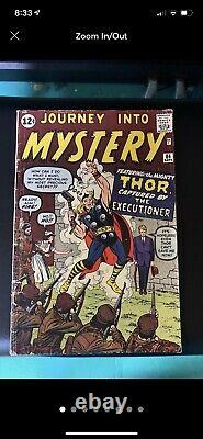 Journey Into Mystery 84 2nd Thor 1st Jane Foster Marvel Silver Age Comic