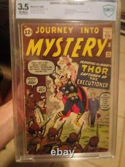 Journey Into Mystery #84 CBCS 3.5 OW KEY (Like CGC) 2nd Thor & 1st Jane Foster