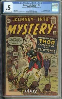 Journey Into Mystery #84 CGC 0.5 1st App Jane Foster Complete