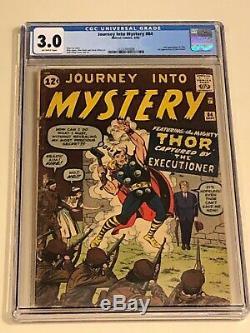 Journey Into Mystery 84 CGC 3.0 1st Jane Foster 2nd Thor MCU Movie