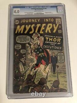 Journey Into Mystery 84 CGC 4.0 2nd Thor & First Appearance Of Jane Foster