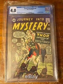 Journey Into Mystery #84 CGC 4.0 OW 2nd Thor/ 1st Jane Foster Marvel