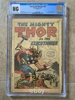 Journey Into Mystery #84 CGC OWithW 1st App. Jane Foster! 2nd App Thor 1962 Marvel