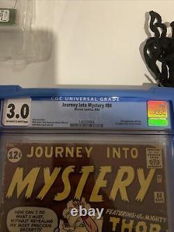 Journey Into Mystery 84 Cgc 3.0