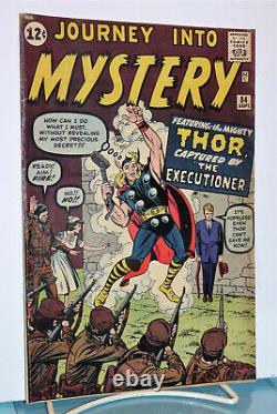 Journey Into Mystery #84 Marvel Comics 1962Thor & The ExecutionerKey Issue