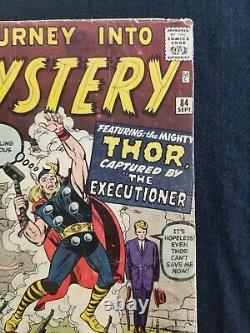 Journey Into Mystery 84 Second Thor First Jane Foster