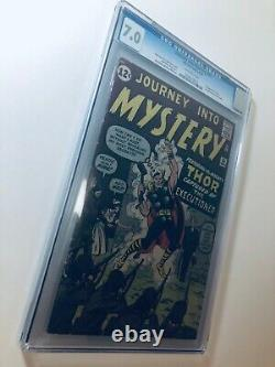 Journey Into Mystery #84 (Sept 1962, Marvel) CGC 7.0 1st Jane Foster 2nd Thor