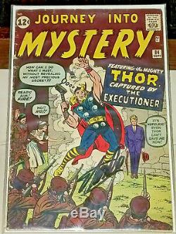 Journey Into Mystery #84 Signed Autographed by STAN LEE 2ND THOR 1ST JANE FOSTER