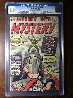 Journey Into Mystery #85 (1962) 1st Loki! , 3rd Thor! CGC 1.8 Key